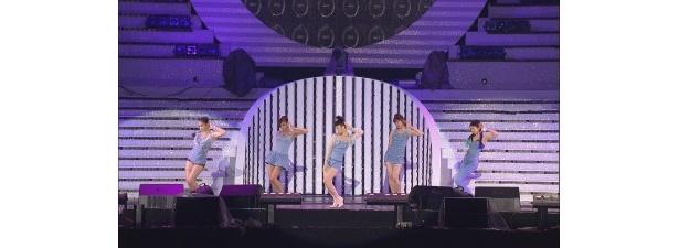 Wonder Girlsは、振り付けが印象的なダンスを披露する