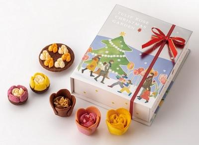 TOKYOチューリップローズ「チューリップローズ クリスマスガーデン」(6個入 2160円/税込)