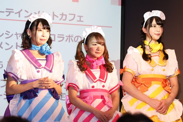 エンターテインメントカフェでは2020年3月以降、声優によるステージショーも実施予定