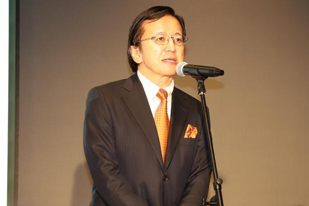 株式会社KADOKAWA 代表取締役社長の松原眞樹氏