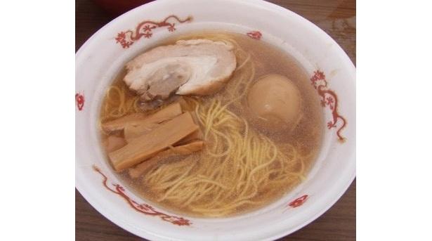 【写真】シンプルなのに美味しそう! 炊き出しで提供されたラーメン