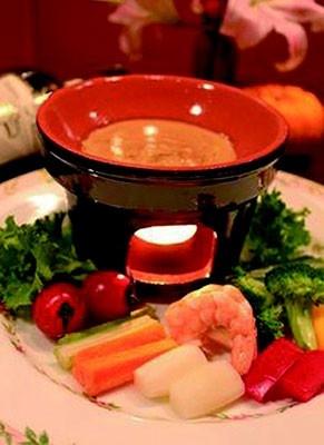 「お箸Dining Bonappetit~ぼなぺっち~」の新鮮野菜のバーニャカウダ