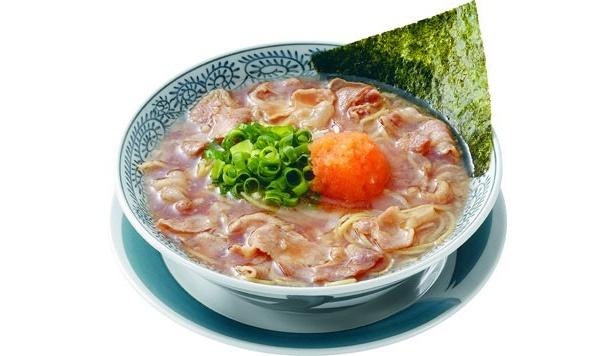 「丸源ラーメン 練馬関町店」の「丸源 肉そば」(682円)は、ユズコショウおろしがアクセントに