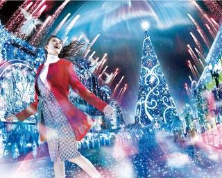 USJの10年ぶりに生まれ変わったライブショー!クリスタルの輝きに包まれるクリスマスが新登場