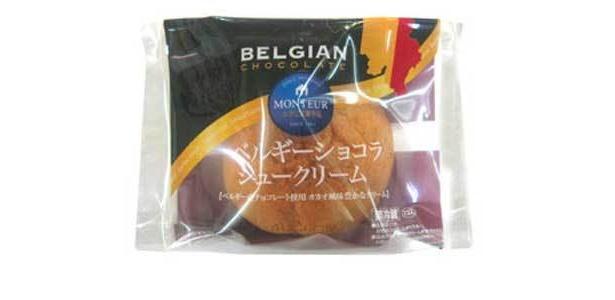 新発売の「ベルギーショコラシュークリーム」(126円)は、濃厚なチョコレートが主役