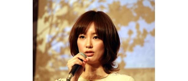 錦戸亮演じる勇次の妻・幸子役の水川あさみ