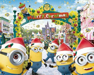 USJ期間限定のキャラクタースウィーツで超ハッピーに!ミニオン・パークのイエロー・クリスマスがスタート