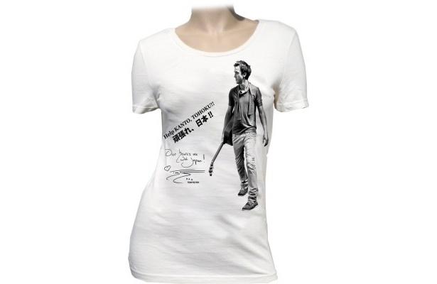 トム・フェルトンのチャリティーTシャツ