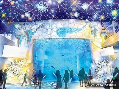 """【画像】""""流氷の天使""""クリオネのオブジェが幻想的に水族館を彩る"""