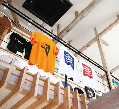 STEREO COFFEE / 全国30のコーヒーショップのTシャツを展示販売し好評を博した「コーヒーTシャツストア」