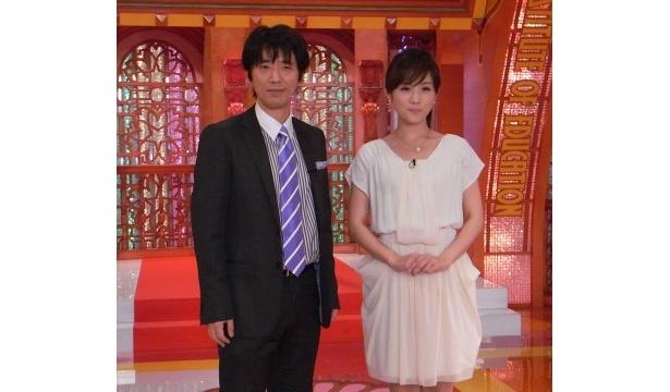 番組リニューアルで、ユースケ・サンタマリアは高島彩へのコンビ愛を再確認した