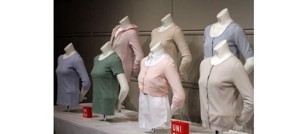 【写真】バラエティ豊かな「着るUVカット」コレクション