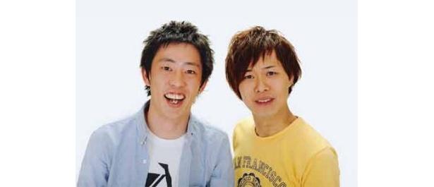 さらば青春の光(松竹芸能)。左・森田哲也、右・東口宜隆