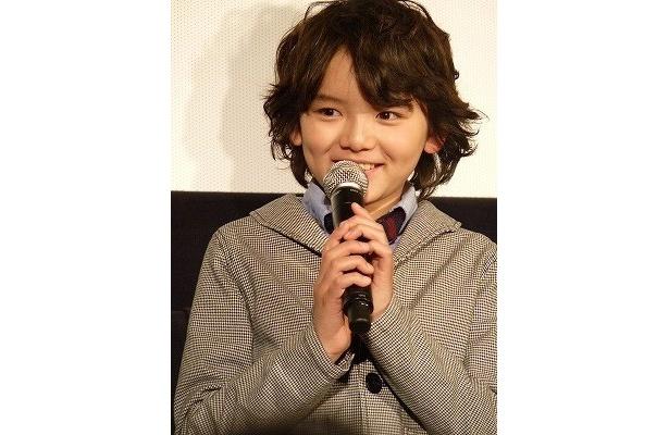 【写真】濱田龍臣は「うまくできたと思います」と自信たっぷり!