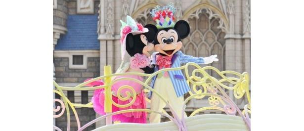 春色のパステルカラーで華やかな「ディズニー・イースターワンダーランド」