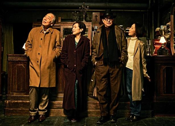 様々なジャンルを手掛ける阪本順治監督の最新作に実力派キャスト陣が集結!