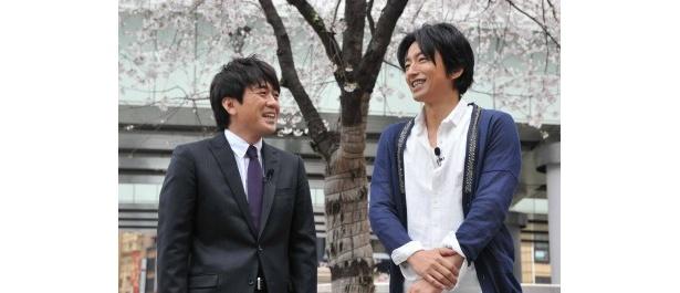 「ぴったんこカン・カン」に大沢たかおが登場。安住紳一郎アナと東京都内各地を巡る
