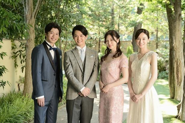 北川景子と田中圭が特別出演で、豪華スマホカップル勢ぞろい!