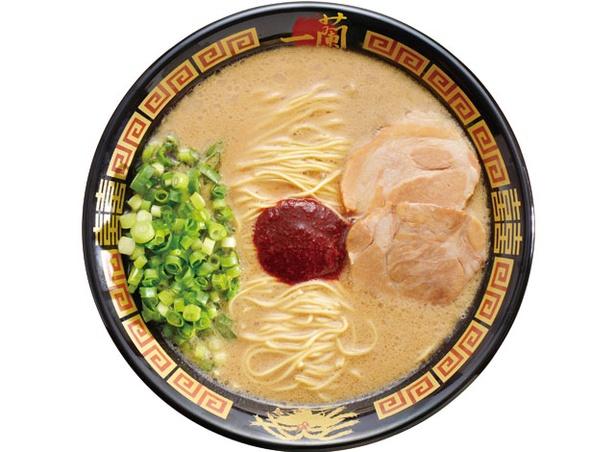 一蘭 一蘭の森店 / 天然とんこつラーメン (創業以来) 790円