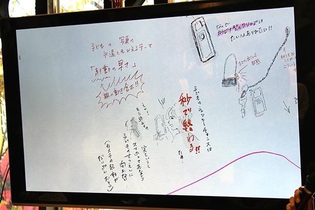 横峰沙弥香さんはiNSPiCの魅力に起動の早さを挙げた