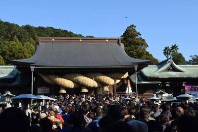 宮地嶽神社 歳旦祭 / 宮地嶽神社へ新年のご挨拶を