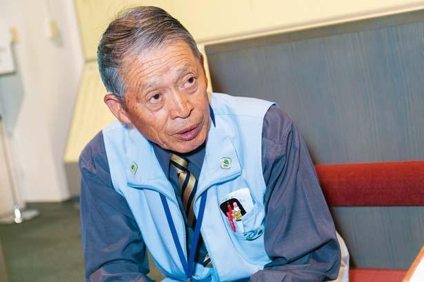 神戸市消防署員(当時の役職)の野村 勝さん(81)