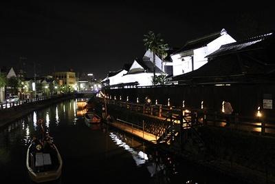 【写真】和の雰囲気漂う街で竹明かりの優しい光に癒やされて