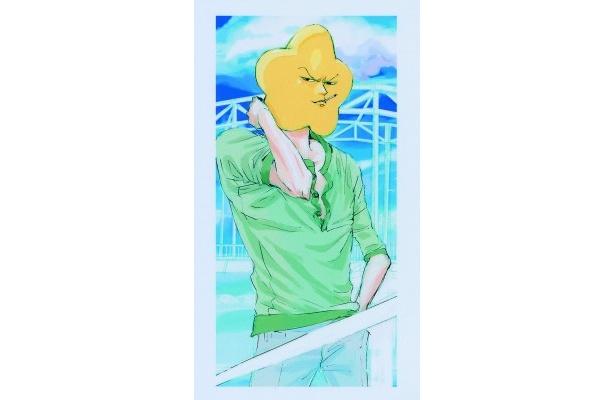 山田が原作の漫画を読んで出演を決めた星の原画