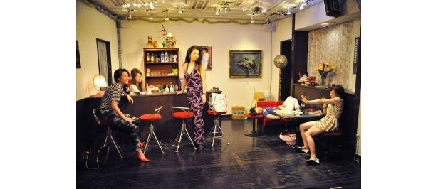 第一回公演「女の罪」も女たちのバトルが繰り広げられた
