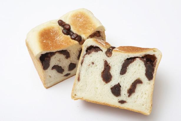 あんのおいしさをしっかり堪能したいなら「もっちりあん食パン」(1斤 330円)がおすすめ / ブーランジェリー クラックマン