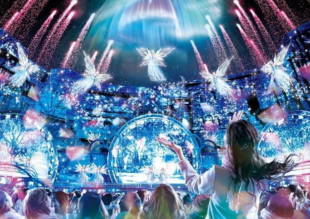 「クリスタルの約束」のイメージ。輝きに満ちた美しいステージが展開される