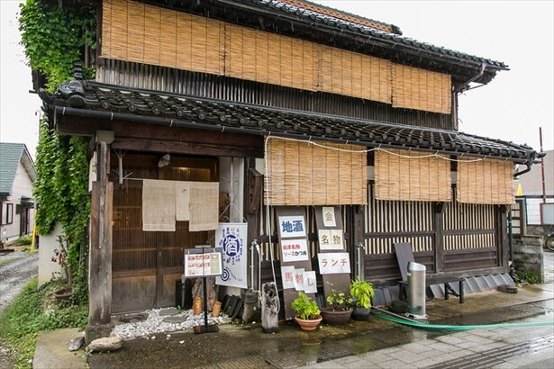 会津 田舎家の外観