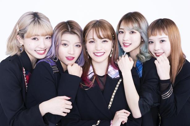 女性5人組ダンスヴォーカルグループCHERRSEE 新曲発売!|ウォーカープラス