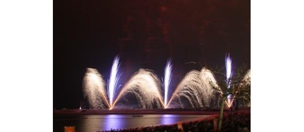 【写真】幻想的な花火の数々やそのほかの展示イベントの模様