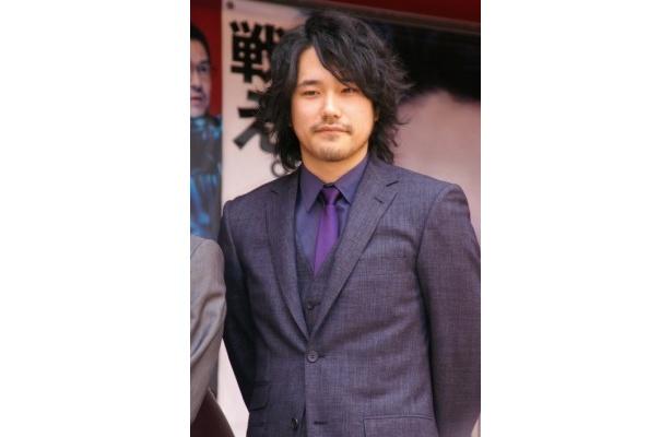 『GANTZ PERFECT ANSWER』のGANTZトレーラー終了式に出席した松山ケンイチ