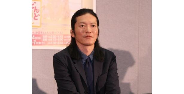 今回、ゲスト出演した田辺誠一は「すごくプレッシャーを感じました」とコメント