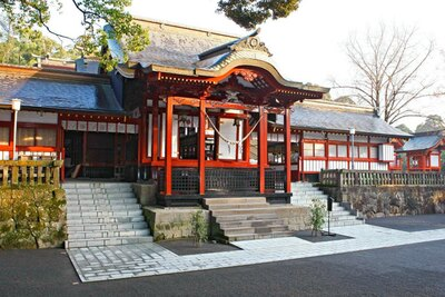 鹿児島神宮 / 大隅正八幡とも呼ばれる由緒ある神宮