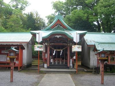 揖宿神社 / 揖宿神社の社叢として鹿児島県天然記念物に指定されている