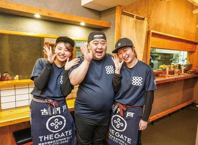 二代目踊る肉だんご / 店主・坂田健三郎さんと元気なスタッフがお出迎え