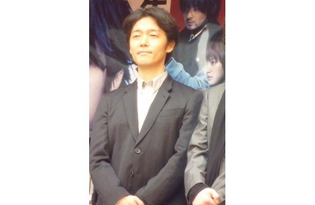 【写真】佐藤信介監督は「震災の影響で公開ができない劇場などもあるんですが、なんとか全国の方々に届けられる努力をしたい」と全国上映への意気込みを