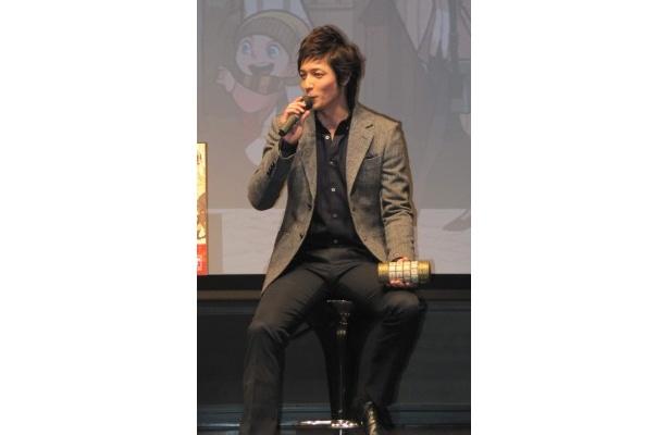 昨年ヨーロッパを一人旅したという玉木宏。今度はゲームの舞台にもなっている「イタリアに行きたい」と語った