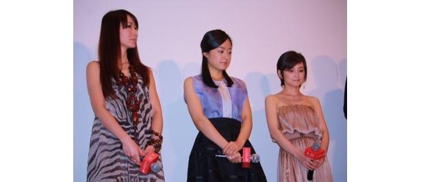 女優陣がそれぞれに本作への思い入れを語った