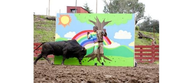 完璧な擬態なら、牛にもばれないはず?