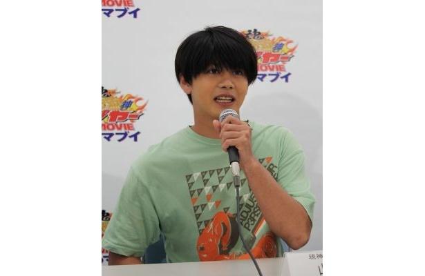 【画像を見る】山田&ISSAのアップ写真など会見の模様をチェック!