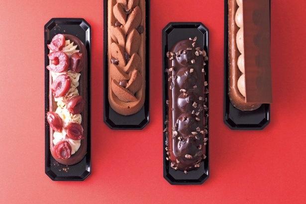 チョコレートチーズケーキ(680円〜)/ADDICT CHOCOLATE FABIEN BERTEAU グランフロント大阪