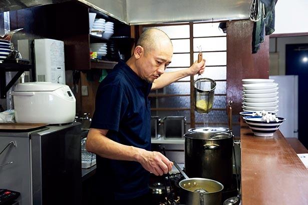 店主・川久保さんこだわりの一杯を味わおう