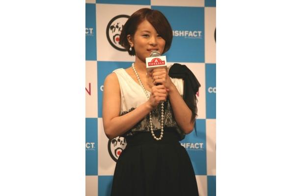 2月の出産を経て、久々の公の場に登場した歌舞伎俳優・中村勘太郎の妻の前田愛