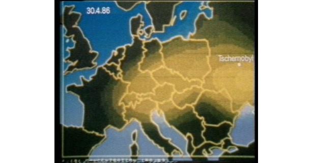随所にアニメーションが導入された、ドイツ製ドキュメンタリー『第八の戒律』(91)