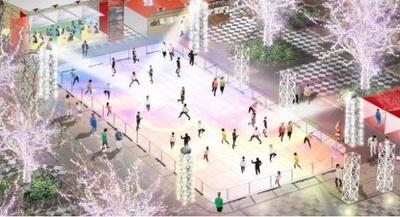 【写真】2020年3月22日(日)までオープンしているスケートリンク ※画像はイメージ