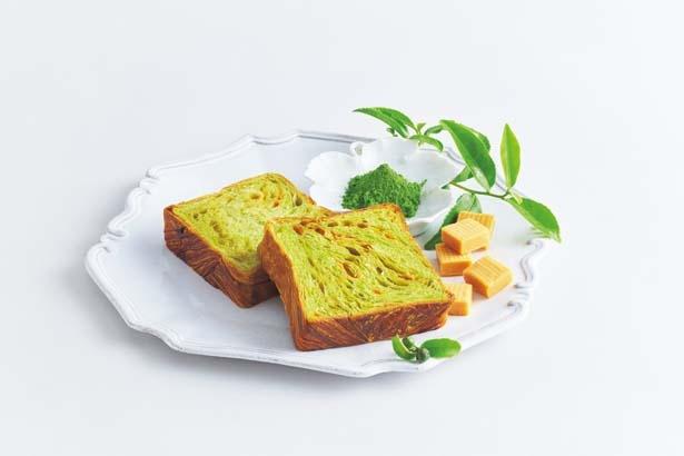 抹茶キャラメル(1斤1296円)/GRAND MARBLE 京都駅店